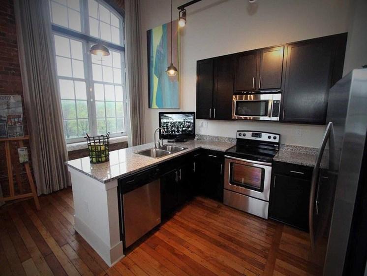 Drayton Mills Lofts Kitchen